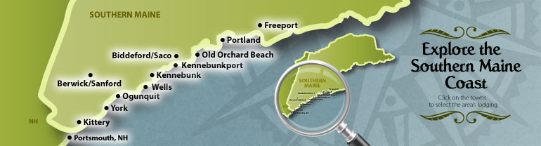 Ocean Park Maine Map.Beach Guide Southern Maine Coast Beach Guide And Directory
