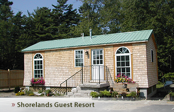 shorelands guest resort pet friendly cottage rentals