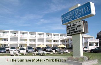 Sunrise Motel The On York Beach